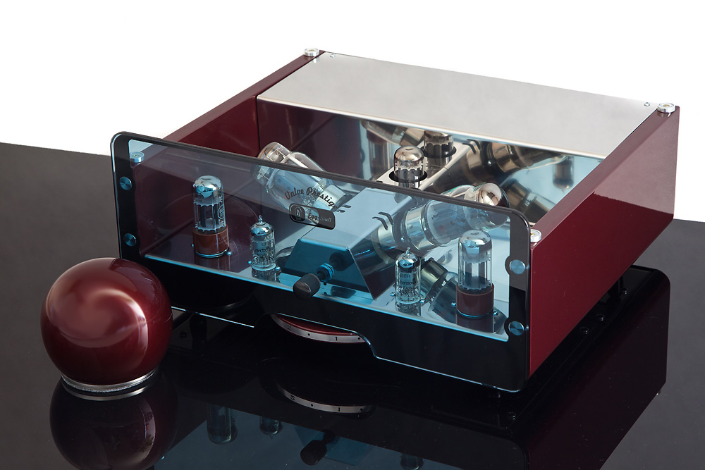 Egg-Shell Prestige 12WKT - tube stereo amplifier