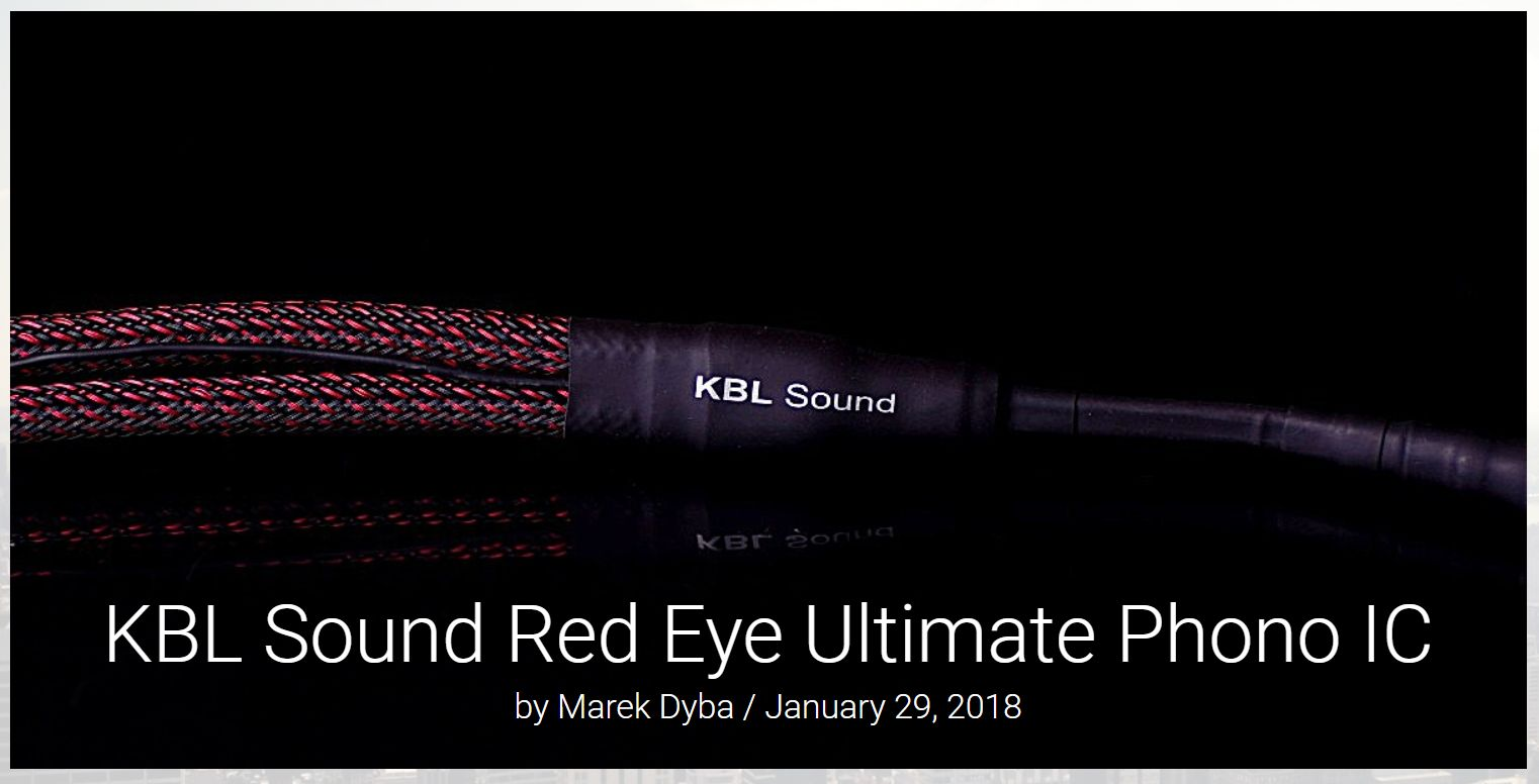 KBL Sound RE Ultimate phono_HKreview cover