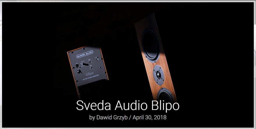 Sveda Audio Blipo_HKreview cover